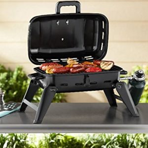 Gas Grill Portable Tabletop BBQ Propane Barbeque Camping Barbecue Grills Outdoor Backyard Patio