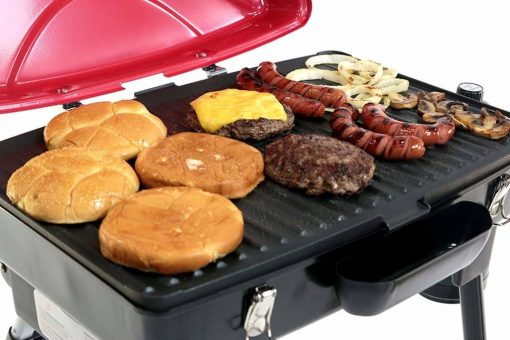 Blackstone Dash Portable Grill/Griddle for Outdoor Cooking - Camping and Tailgating