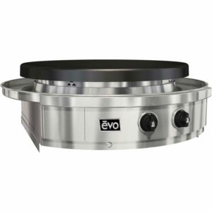 EVO Affinity 30G Series Built-in Grill (10-0055-NG), Seasoned Steel Cooktop, Natural Gas