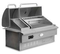 Louisiana Grills Built In Wood Pellet Grill and Smoker, Estate Series 860BI
