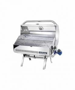 Magma Products, A10-918-2GS Newport 2 Infra Red Gourmet Series Gas Grill, Polished Stainless Steel
