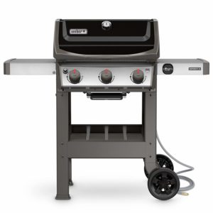 Weber 49010001 Spirit II E-310 Gas Grill NG Outdoor, Black