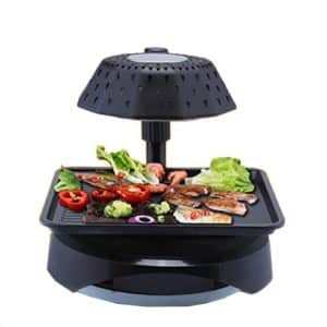 3D smokeless electric grill infrared heat grill for home BBQ Indoor Non-stick Pan