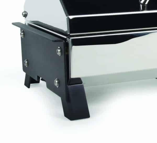 """Camco 57240Olympian 3500-C Stainless Steel Portable Electric Grill by - 1500 Watts of Adjustable Cooking Power, Integrated Folding Legs For Tabletop Use - 145"""" (57305)"""