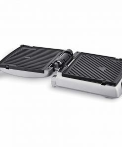 Bella 8-In-1 Electric Contact NonStick Grill Griddles Removeble Plates with Adjustable Heat