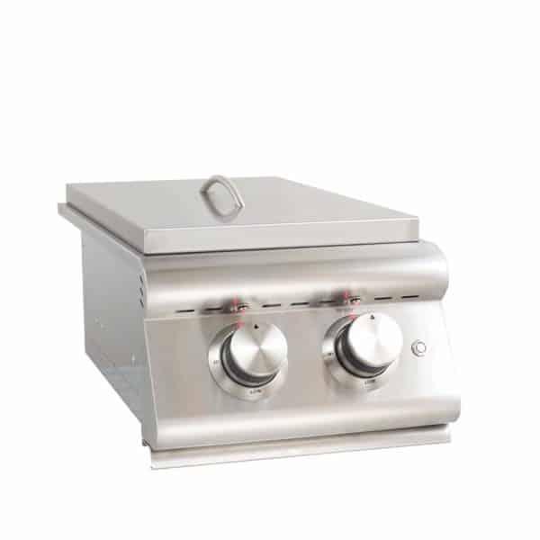 Blaze Built-In Double Burner (BLZ-SB2LTE-NG), Natural Gas