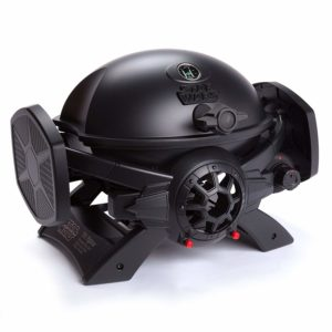 "Broil Chef Star Wars TIE Fighter Gas Grill, Black, 37"" x 17.75"" x 15.75"""