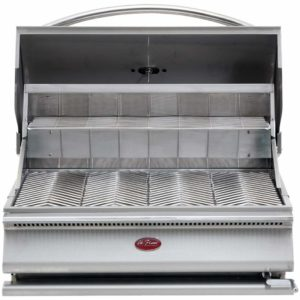Cal Flame BBQ09G870 G-Series Charcoal Grill, Stainless steel