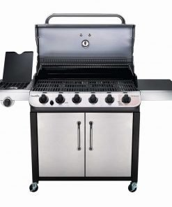 Char-Broil Performance 650 6-Burner Cabinet Liquid Propane Gas Grill