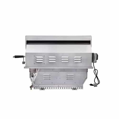 EdgeStar GRL300IBNG 60000 BTU 30 Inch Wide Natural Gas Built-In Grill with Rotisserie and LED Lighting