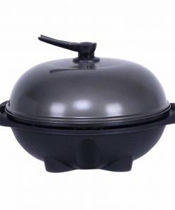 Electric BBQ Grill 1350W Non-stick 4 Temperature Setting Outdoor Garden Camping