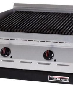 "Garland ED-30B Designer Series Electric Countertop Charbroiler with 30""W x 17-1/4""D Cooking Area & Infinite Controls"
