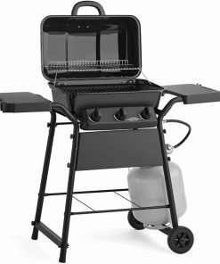 Gas Grill 3 Burner Space Saver