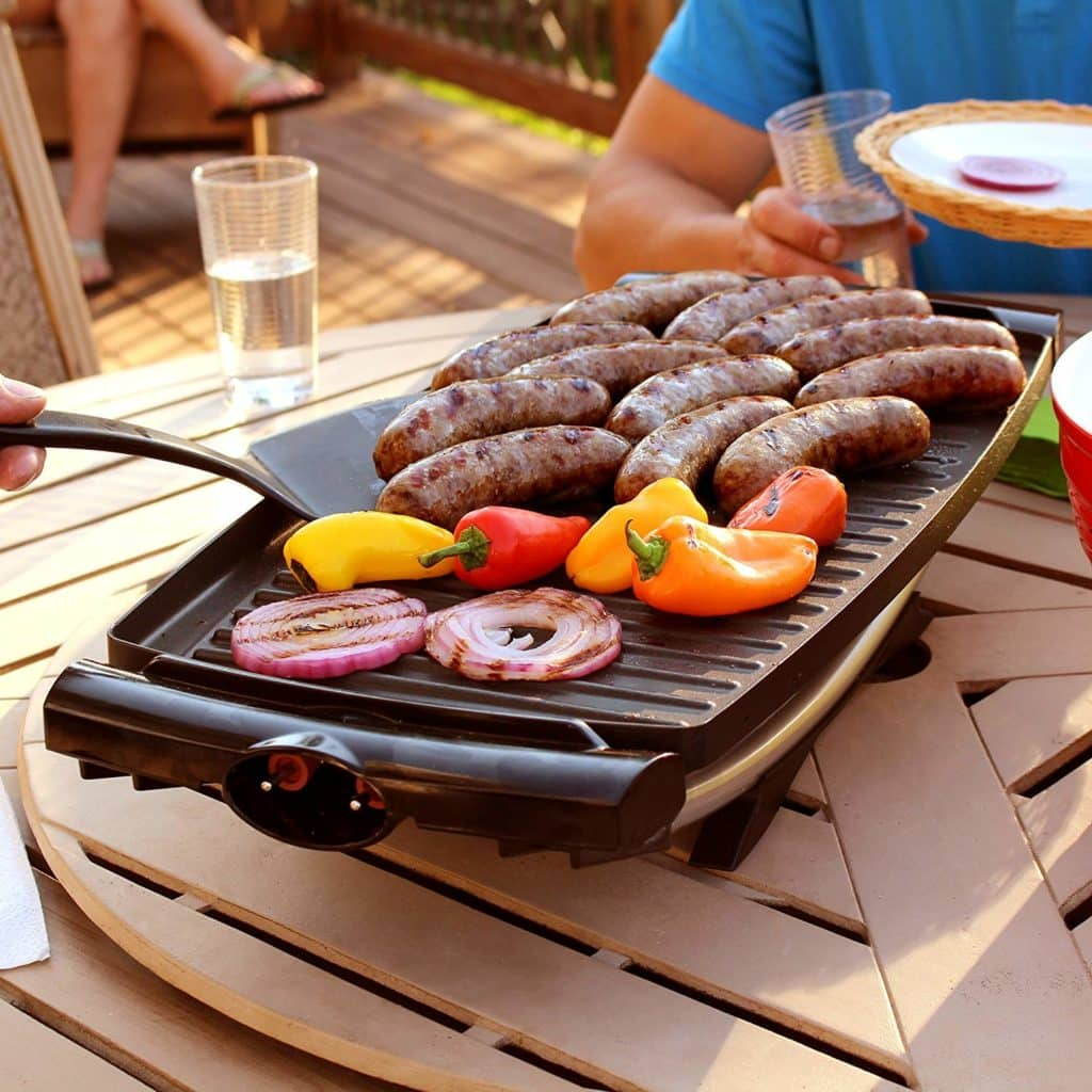 Red George Foreman GFO201R Indoor//Outdoor Electric Grill