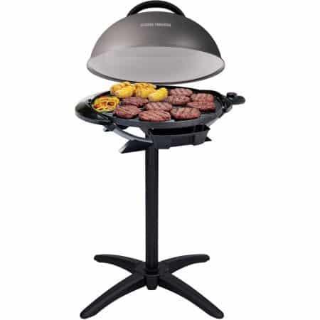 "George Foreman 240"" Indoor/Outdoor Grill, 15-Servings, GFO240GM"