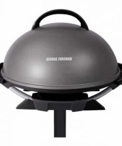 "George Foreman 240"" Indoor/Outdoor Grill, 15-Servings, GFO240GM"