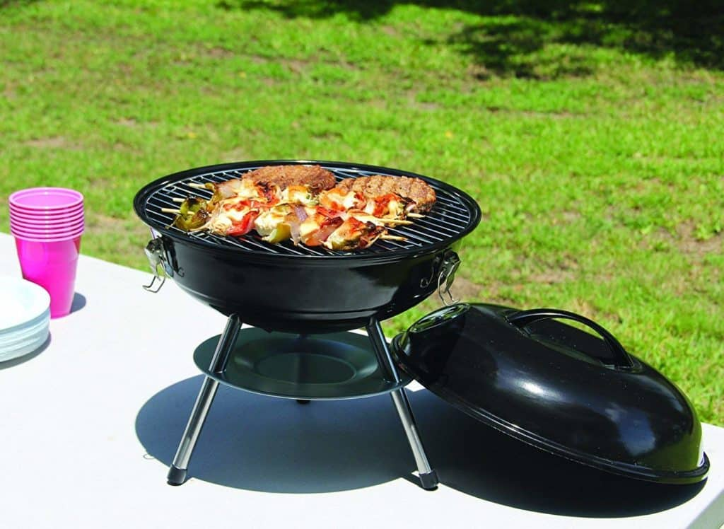 Barbecue Portable Charcoal Grill 14in