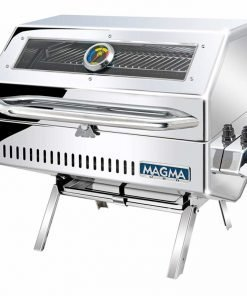 Magma Products, A10-1218-2GS Catalina 2 Infra Red Gourmet Series Gas Grill, Polished Stainless Steel