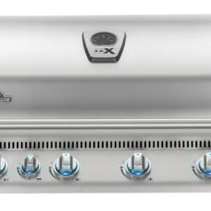 Napoleon LEX 605 Built-In Grill with Infrared Rotisserie (BILEX605RBINSS), Natural Gas