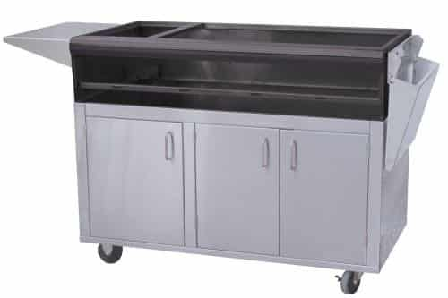 """Profire PF48SSCBN 48"""" Stainless Steel Portable Cart - NG"""