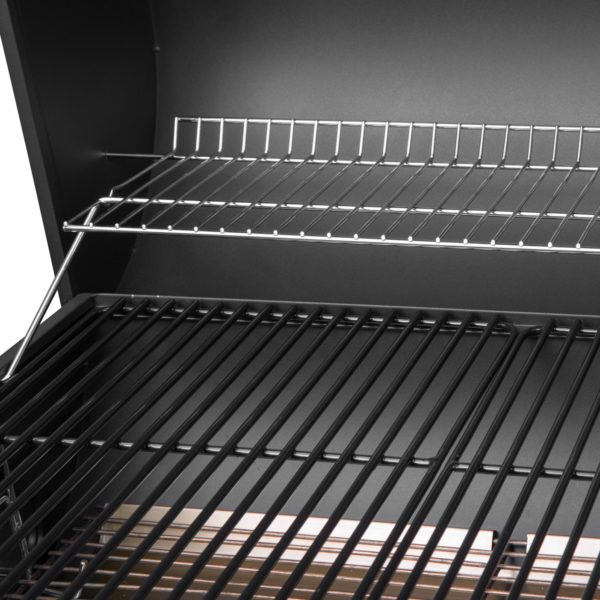 Royal Gourmet BBQ Charcoal Grill with Offset Smoker, 30'' L, New Process Paint Not Flake