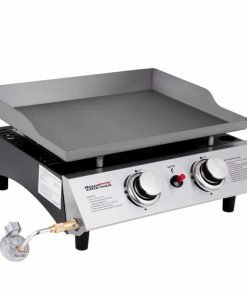 Royal Gourmet Portable 2 Burner Propane Gas Grill Griddle Pd1201