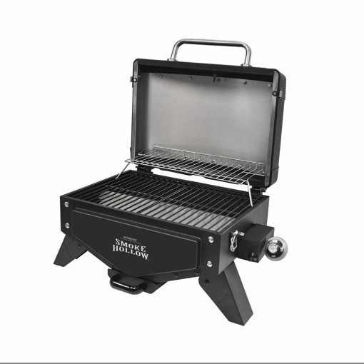 "Smoke Hollow VT280B1 Vector Series, Portable Table Top Propane Gas Grill with Warming Rack, 367 sq. inches of Cooking Area, Dimensions: 25.25"" W x 19.5"" D x 16"" H"