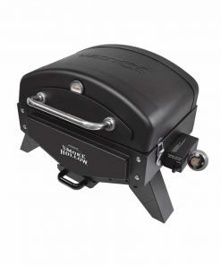 """Smoke Hollow VT280B1 Vector Series, Portable Table Top Propane Gas Grill with Warming Rack, 367 sq. inches of Cooking Area, Dimensions: 25.25"""" W x 19.5"""" D x 16"""" H"""