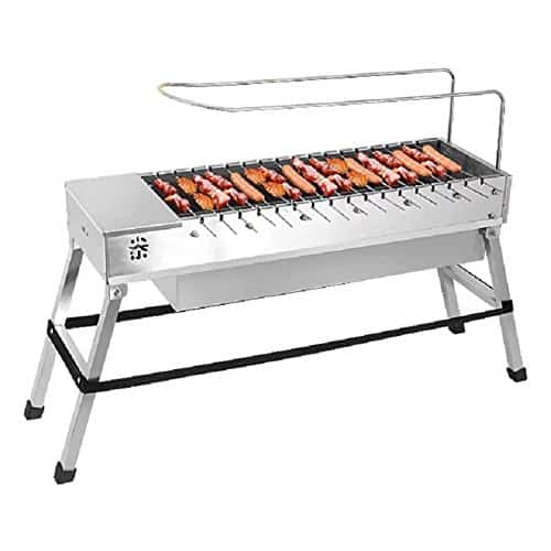 Spark4grill Automatic Rotating Charcoal BBQ Grill Barbecue Stainless Steel(complete set)