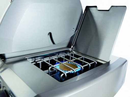 Weber 68004001 Genesis II LX S-640 Natural Gas Grill, Stainless Steel