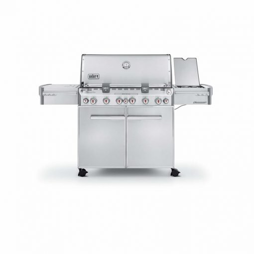 Weber Summit 7370001 S-670 Stainless-Steel 769-Square-Inch 60,800-BTU Liquid-Propane Gas Grill
