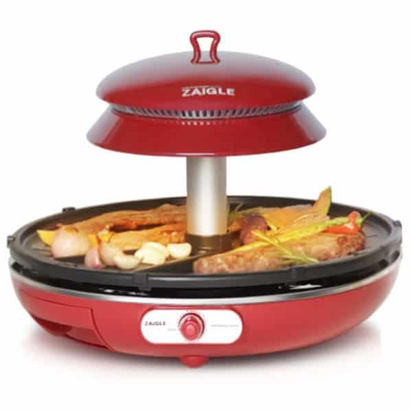 ZAIGLE Well-being Roaster Red ZR-0907 Electric Infrared Grill No-oil splatter, 220V